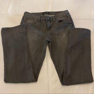 SEVEN7 Women's Jeans - Faded Black - Size 8